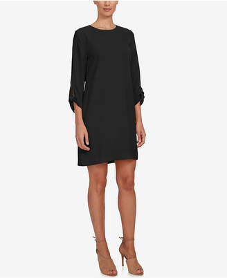 CeCe Tie-Sleeve Shift Dress