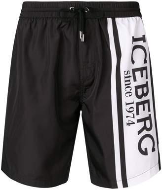 Iceberg branded swim shorts