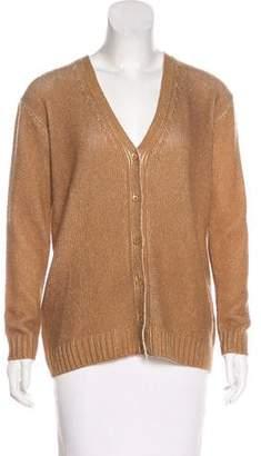 Prada Wool & Cashmere-Blend Cardigan