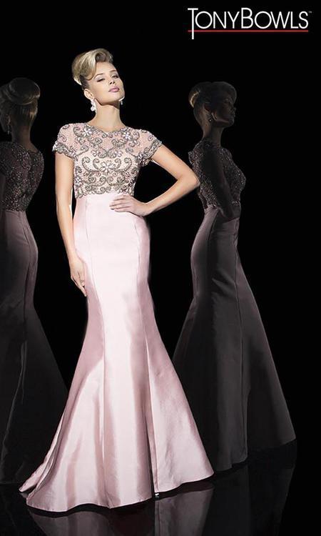 Tony Bowls - TB11688 Dress in English Rose