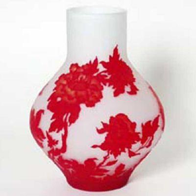 Vase Peony - Red