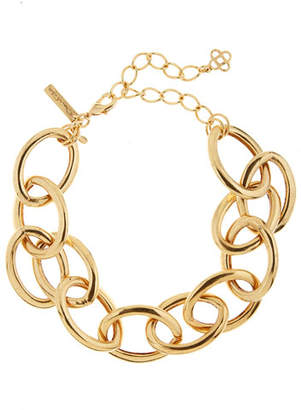 Oscar de la Renta Oversized Chain-Link Necklace