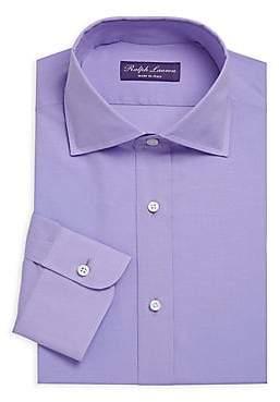 Ralph Lauren Purple Label Men's Soft Cotton Dress Shirt