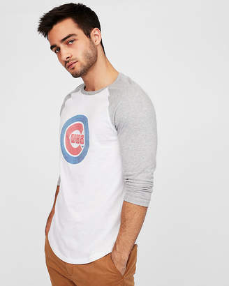 Express Chicago Cubs Baseball Tee
