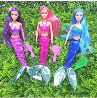 N. Heart to Heart Mermaid Princess Doll Pack Play Gift Set