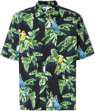 Stella McCartney leaf-print shirt