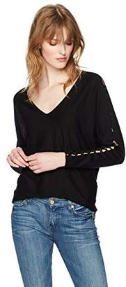 Splendid Women's V Neck Pullover
