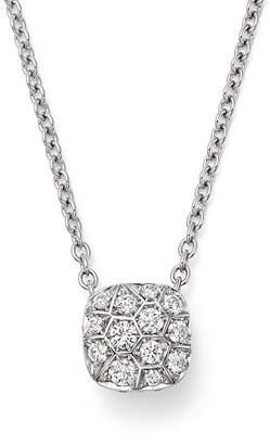 Pomellato Nudo Necklace with Diamonds in 18K White & Rose Gold