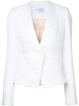 Carven textured fitted jacket