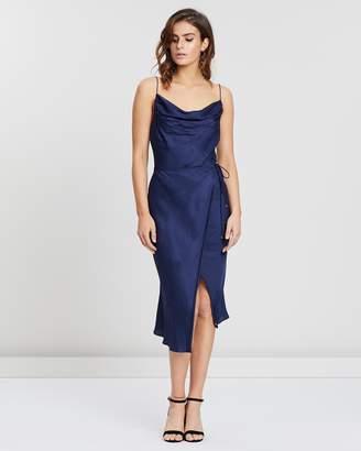 Zetian Cowl Neck Dress