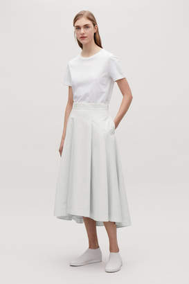 Cos VOLUMINOUS SKIRT WITH PLEATS