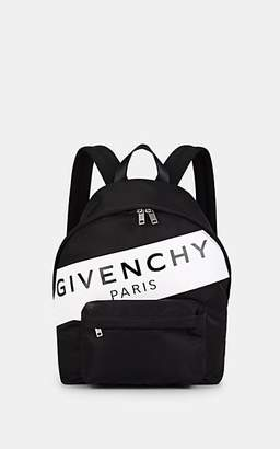 Givenchy Men's Urban Leather-Trimmed Backpack - Black