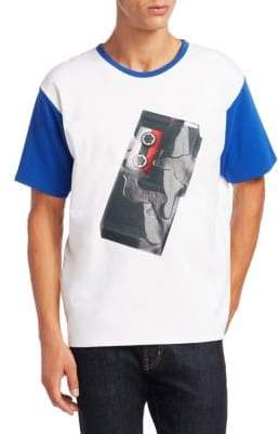 Acne Studios Nite Tape Player Graphic Tee