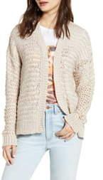 Cotton Emporium Open Stitch Cardigan
