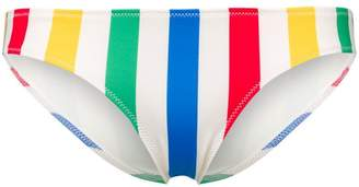 Solid & Striped Elle striped bikini bottom