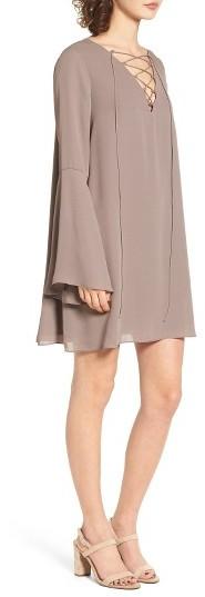 Women's Soprano Lace-Up Shift Dress 3