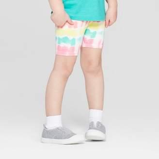 Cat & Jack Toddler Girls' Bike Shorts White