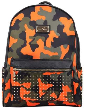 Sandy Lisa Soho Camo Backpack with Laptop Sleeve