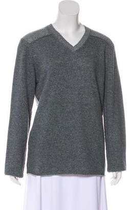 Neiman Marcus Cashmere V-Neck Sweater w/ Tags