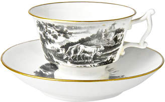 One Kings Lane Vintage Antique Staffordshire Cup & Saucer