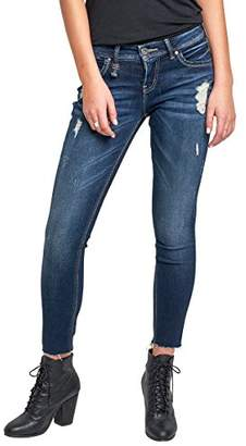 Silver Jeans Co. Women's Kenni Girlfriend Relaxed Skinny Jeans