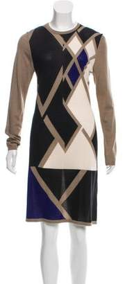 Pringle Lightweight Cashmere Printed Dress