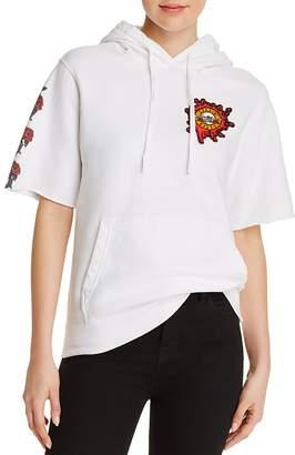 Bravado Guns N' Roses Short-Sleeve Hooded Sweatshirt - 100% Exclusive