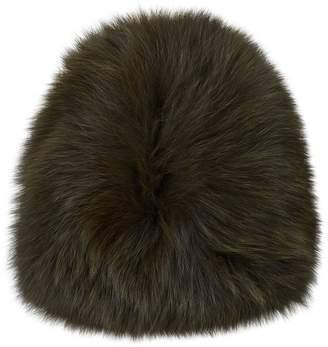 Yves Salomon Fox Fur Hat