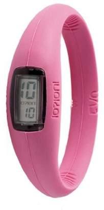 Ioion IO?ION! IO?! ION E-FCH09 III Unisex Watch Digital Quartz Bracelet Silicone Pink