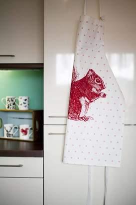 Cherith Harrison Red Squirrel Apron