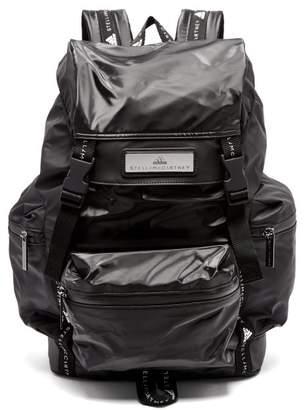 adidas by Stella McCartney High Shine Medium Backpack - Womens - Black