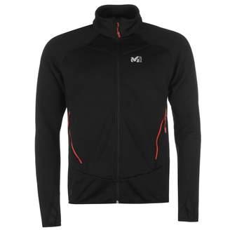 Millet Mens Trident Grid Fleece Full Zip Top Sweatshirt Jumper Breathable