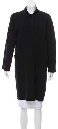 Max Mara Button-Up Wool Coat