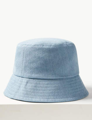 Marks and Spencer Pure Cotton Modern Bucket Sun Hat