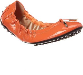 Tod's Gommino Patent Ballerina Flat
