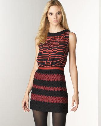 Missoni Banded Dress