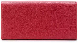 Longchamp flap continental wallet