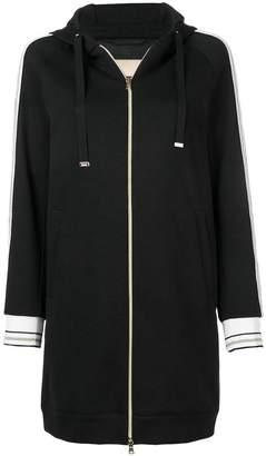 Herno long hoodie style jacket
