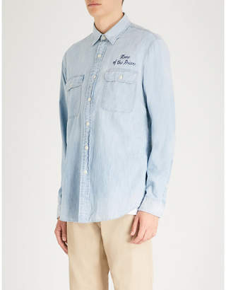 Polo Ralph Lauren Embroidered denim shirt