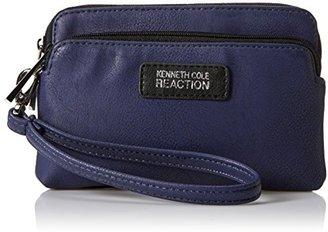 Kenneth Cole Reaction Drive Double Zip Wristlet Phone Wallet $42 thestylecure.com
