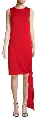 Milly Stretch Silk Chiara Shift Dress