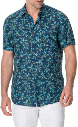 Rodd & Gunn Forbes Regular Fit Print Shirt
