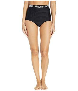 Moschino High-Waisted Bottoms with Wrap Around Band