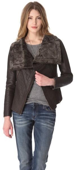 Muu Baa Muubaa Bronson Shearling Jacket