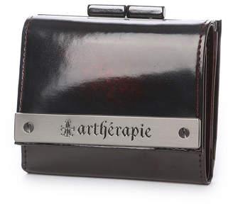 Artherapie (アルセラピィ) - アルセラピィ artherapie ATメタルプレートアドバン 三つ折りがま口 ミニ財布