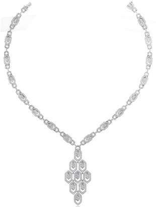 Bulgari 18K 8.00 Ct. Tw. Diamond Necklace