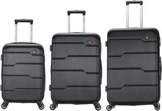 Dukap DUKAP Rodez Lightweight Hardside 3-Piece Luggag e Set