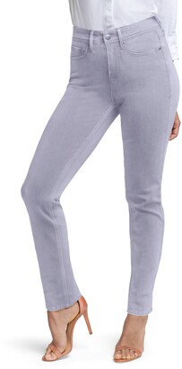 NYDJ Curves 360 by Slim Straight Leg Ankle Jeans
