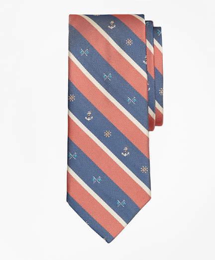 Brooks Brothers Nautical Stripe Tie