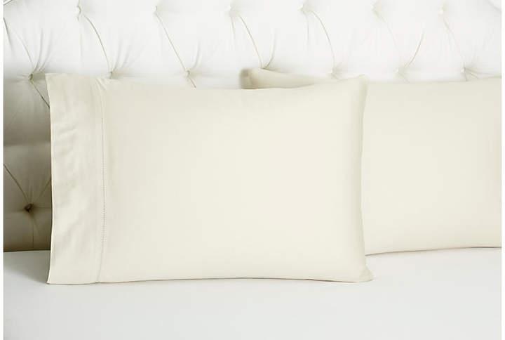 Set of 2 Arabesque Std Pillowcases - Linen
